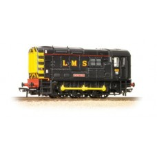 "New Bachmann Class 08 08601 ""Spectre"" LMS Black Livery 32-106K OUT OF STOCK"