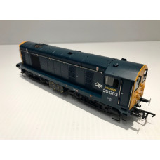 Bachmann Class 20 20063 BR Blue 32-025 DCC FITTED