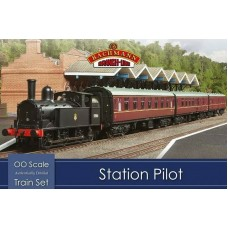 Bachmann Station Pilot Train Set 30-180