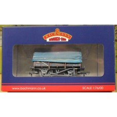 Bachmann China Clay Wagon With Hood BR Bauxite (Weathered) 33-081B OUT OF STOCK