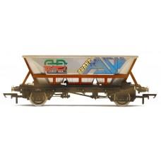 Hornby BR Railfreight HAA MGR Graffiti Wagon (Weathered) R6706